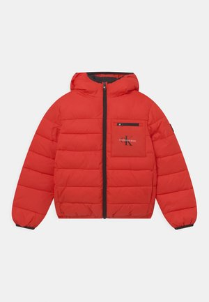 PACKABLE BACKPACK PUFFER  - Winter jacket - flaming chili