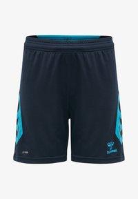 Hummel - HMLACTION  - Sports shorts - black iris/atomic blue - 0