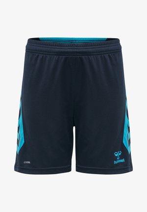 HMLACTION  - Sports shorts - black iris/atomic blue