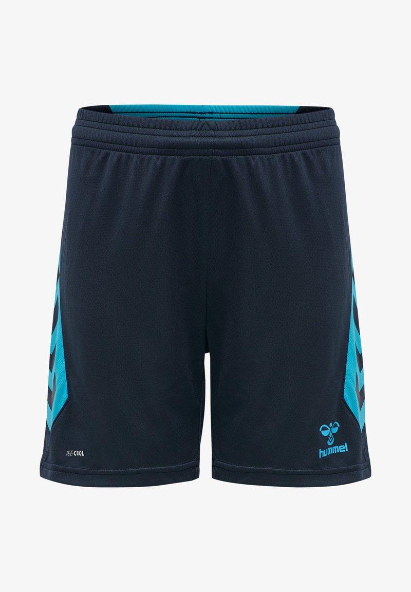 Hummel - HMLACTION  - Sports shorts - black iris/atomic blue