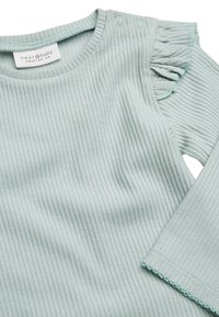 Next - PINK/GREEN 2 PACK FRILL SLEEVE BODYSUITS (0MTHS-3YRS) - Long sleeved top - pink - 4