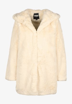 Płaszcz zimowy - offwhite