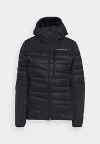 Norrøna - FALKETIND HOOD - Down jacket - black - 4