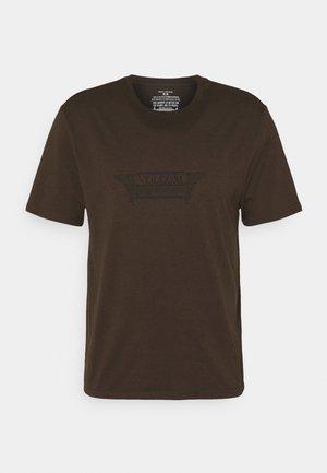 BONE SECTION - Print T-shirt - wren
