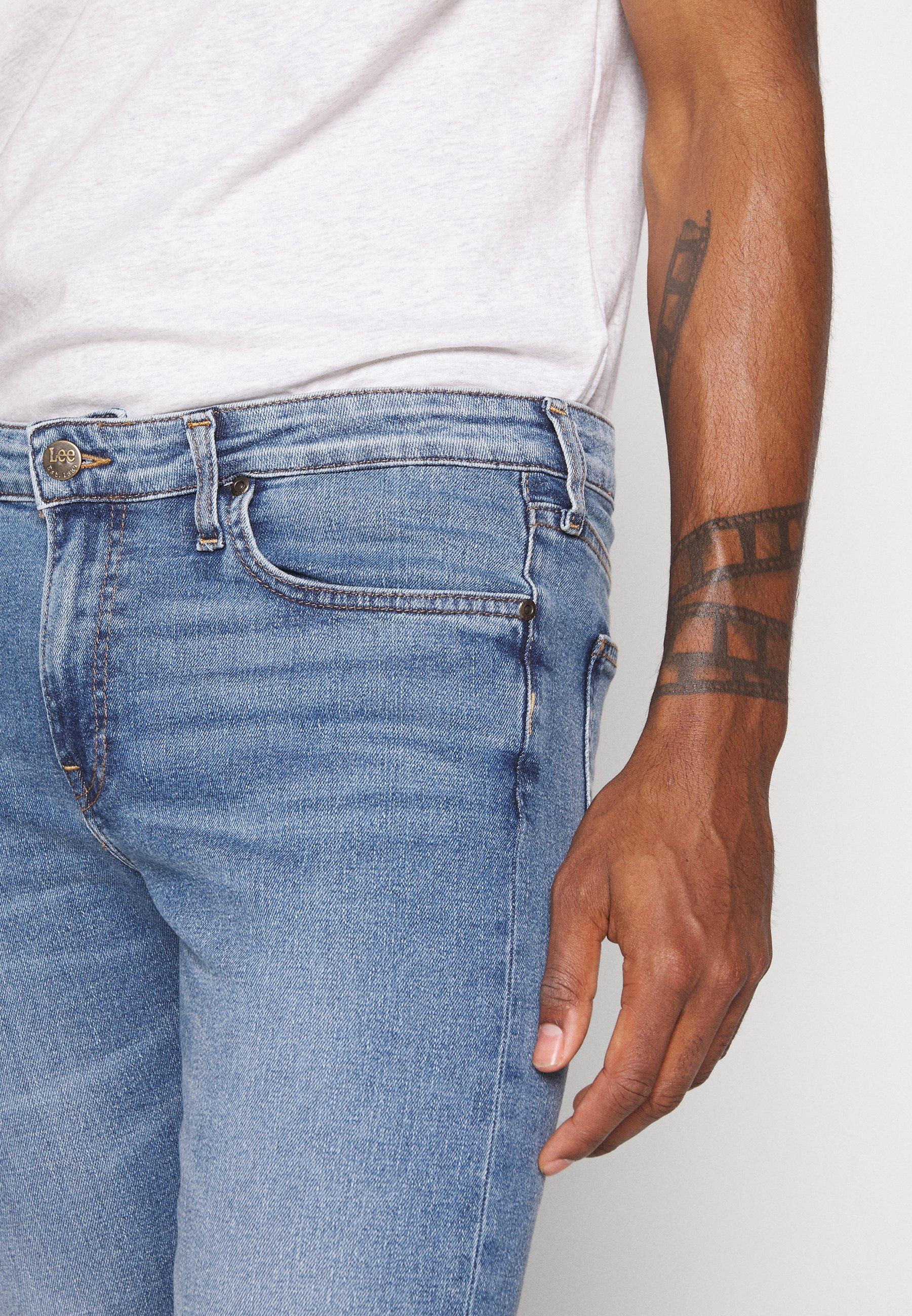 Lee MALONE - Jeans Skinny - stone blue