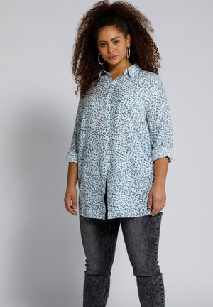 Button-down blouse - schneeweiß