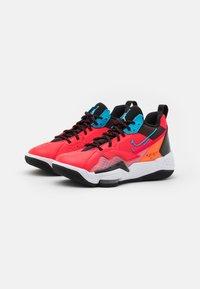 Jordan - ZOOM '92 - High-top trainers - siren red/blue fury/black/total orange - 2