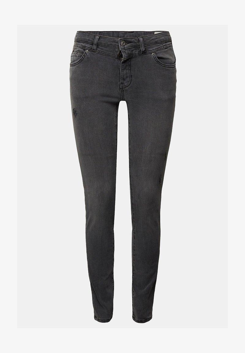 edc by Esprit - FASHION - Jeans Skinny Fit - grey medium washed