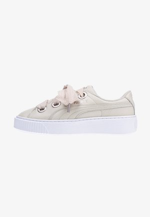 PUMA PLATFORM KISS LEA - Matalavartiset tennarit - multicolor