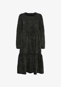 Vero Moda - Denim dress - black - 5