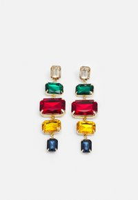 Pieces - PCRYSTAL EARRINGS - Earrings - gold-coloured/multi - 0