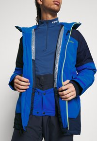 Columbia - WILD CARDJACKET - Snowboard jacket - bright indigo/collegiate navy - 3