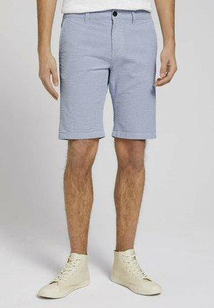 Shorts - blue white stripe