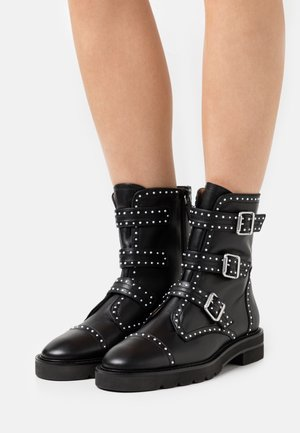 JESSE LIFT - Cowboy/biker ankle boot - black