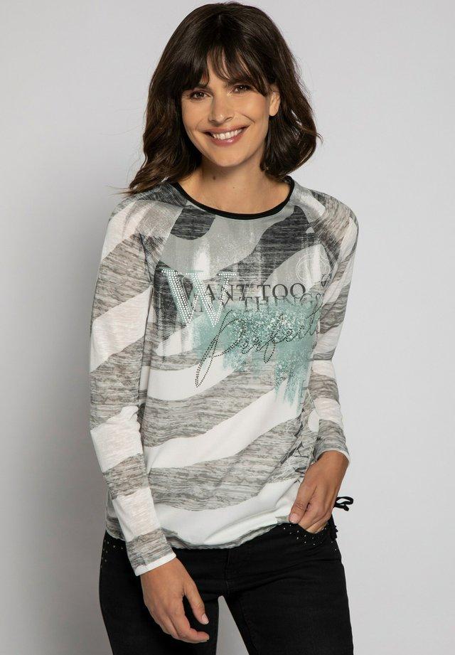 Långärmad tröja - khakigrün