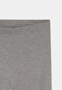 Name it - NKFVIVI 2 PACK - Leggings - Trousers - grey melange - 3