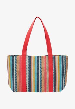 Tote bag - multicolor stripes
