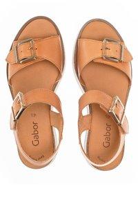 Gabor - Platform sandals - shell - 1
