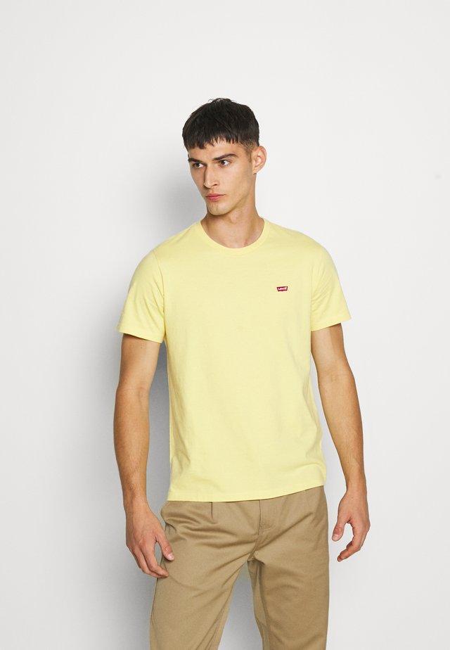 ORIGINAL HM TEE - Camiseta estampada - dusky citron