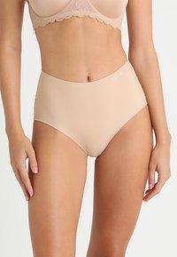 Calvin Klein Underwear - HIGH WAIST HIPSTER - Slip - beige - 0