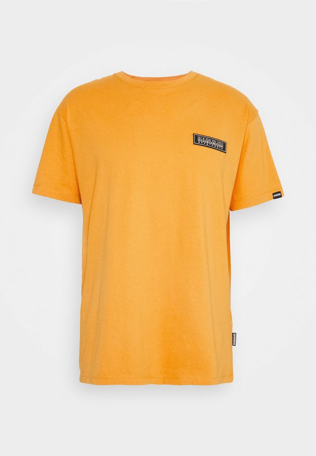 PATCH UNISEX - Print T-shirt - yellow solar