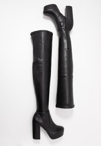 Steve Madden - GOTHAM - Laarzen met hoge hak - black paris - 3