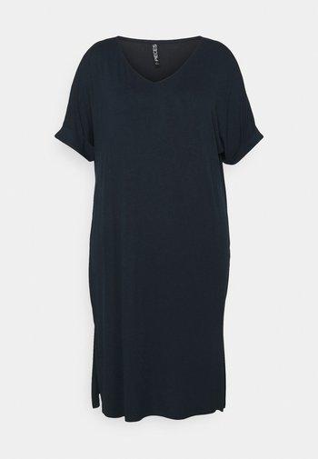 PCNEORA FOLD UP DRESS - Jersey dress - sky captain