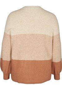 Zizzi - Sweatshirt - beige - 4