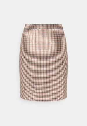 A-line skirt - toffee