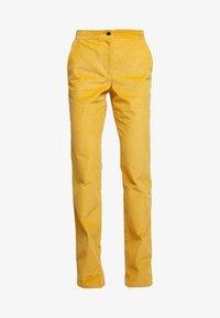 Trousers - honey brown