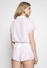 Pour Moi - SPOT MIX SHORT - Pyjama bottoms - white - 2