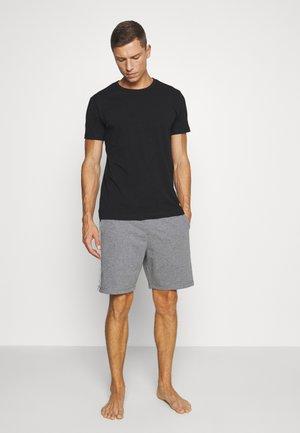 MAXWELL 3 PACK - Pyjama top - black