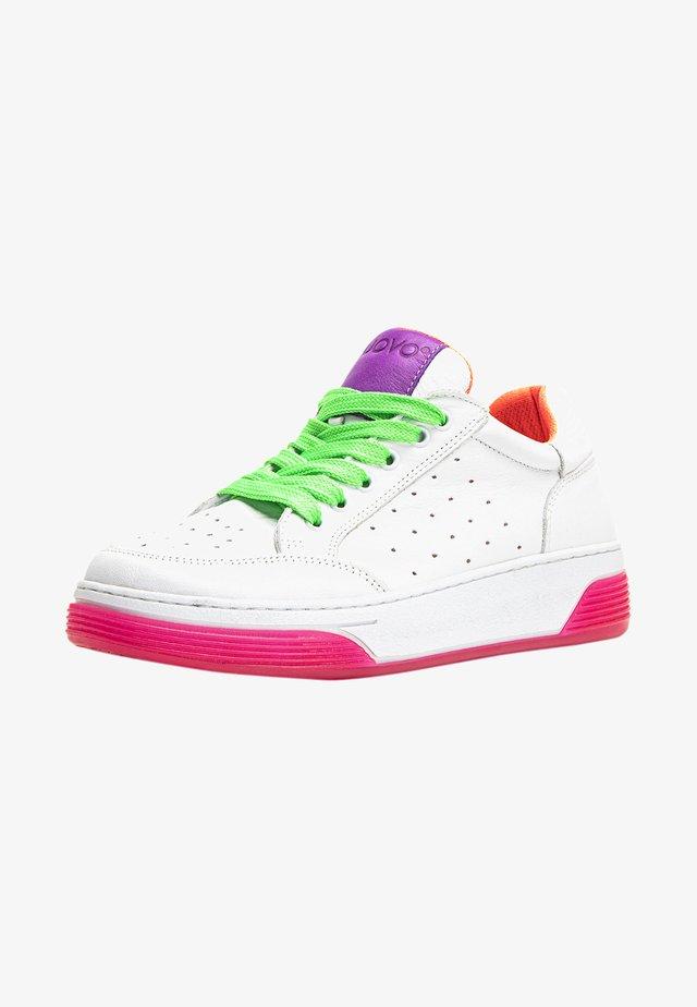 Sneakers laag - white/purple
