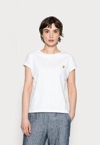 Opus - SULAKI - Basic T-shirt - white - 0