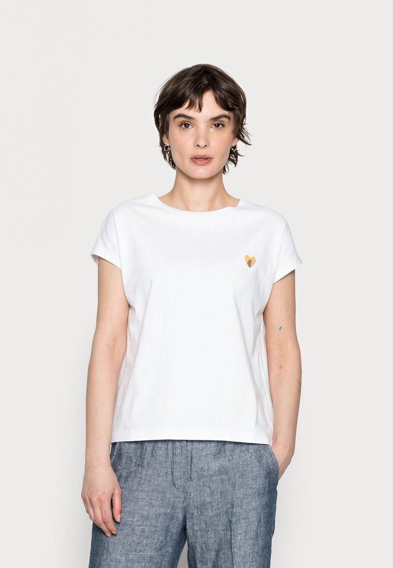 Opus - SULAKI - Basic T-shirt - white
