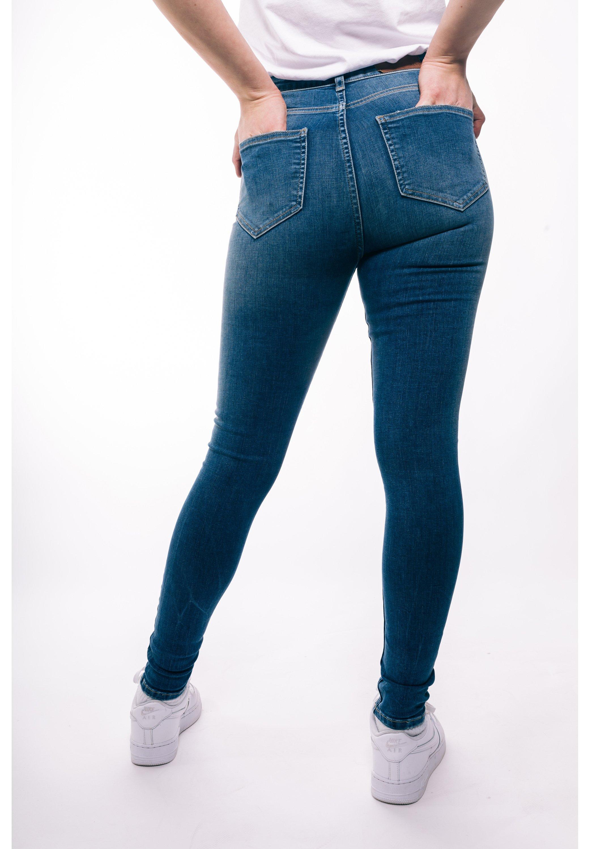 Damen RIPPED HIGH WAIST - Jeans Skinny Fit