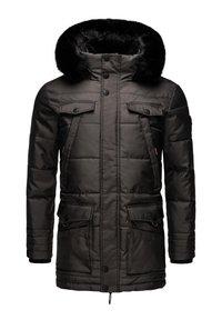 Navahoo - LUAAN - Winter coat - dark grey - 6