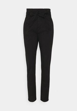 ONLPOPTRASH LIFE PANT - Trousers - black