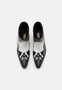 Kentucky's Western - Kovbojské/motorkářské boty - black/white - 3