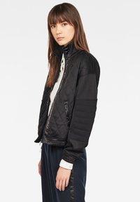 G-Star - BEETLE QUILT ZIP - Winter jacket - black - 2