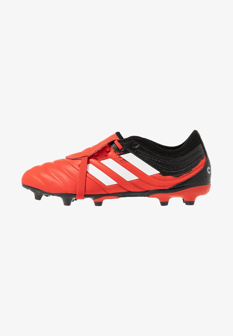 adidas Performance - COPA GLORO 20.2 FG - Moulded stud football boots - active red/footwear white/core black