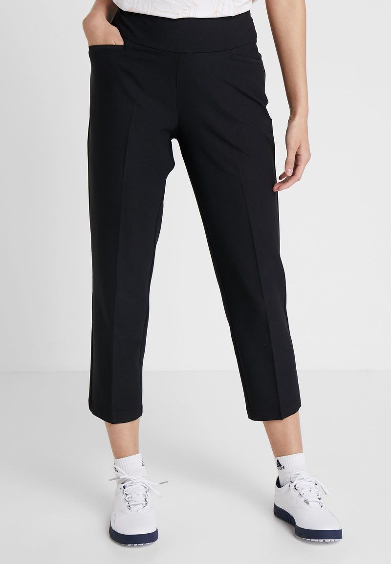 adidas Golf - PULLON ANKLE PANT - Trousers - black