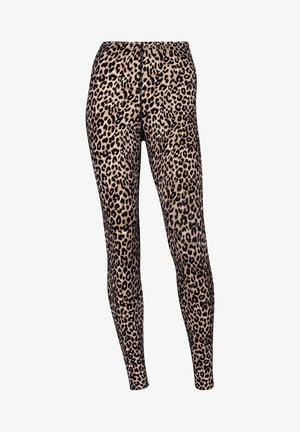 MASSAGE EFFEKT - Leggings - brown