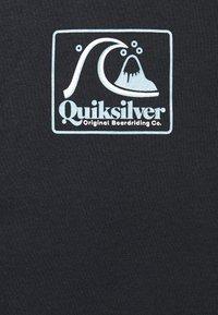 Quiksilver - BEACH TONES - Triko spotiskem - black - 2