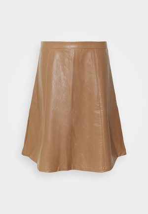 CRILLE SKIRT - A-Linien-Rock - brown