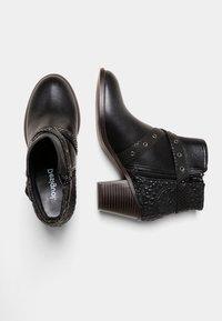 Desigual - ALASKA MANDALA - Classic ankle boots - black - 2