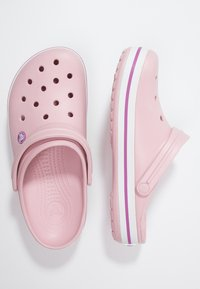 Crocs - CROCBAND RELAXED FIT - Muiltjes - pearl pink/wild orchid - 1