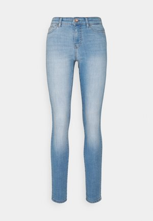 ONLANNE LIFE MID SKINNY  - Jeans Skinny Fit - light blue denim