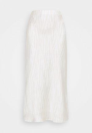 BIAS MIDI SLIP - A-line skirt - neutral