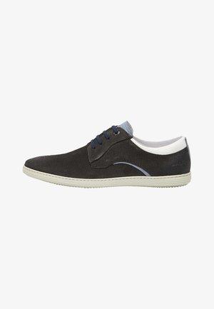 Chaussures à lacets - grau